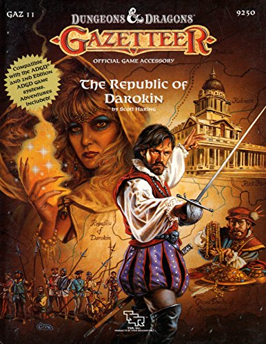 The Republic of Darokin (D&D Gazetteer GAZ11) (0880387130) by Haring, Scott