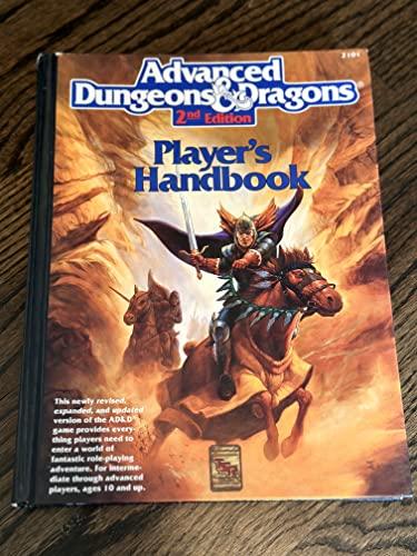 9780880387163: Advanced Dungeons & Dragons Player's Handbook, 2nd Edition