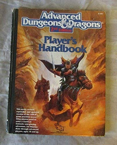 9780880387163: Advanced Dungeons & Dragons Player's Handbook, 2nd Edition