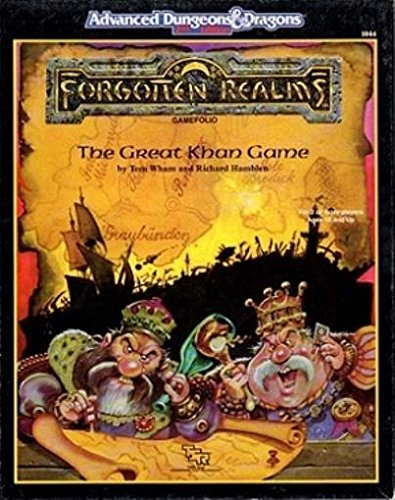 9780880387217: The Great Khan Game (AD&D/Forgotten Realms Game Folio) [BOX SET]
