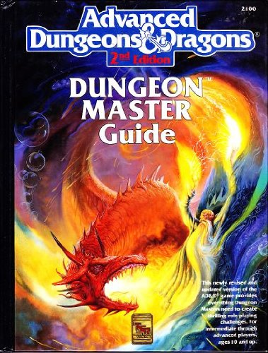 9780880387293: The Dungeon Master Guide, No. 2100, 2nd Edition (Advanced Dungeons and Dragons)