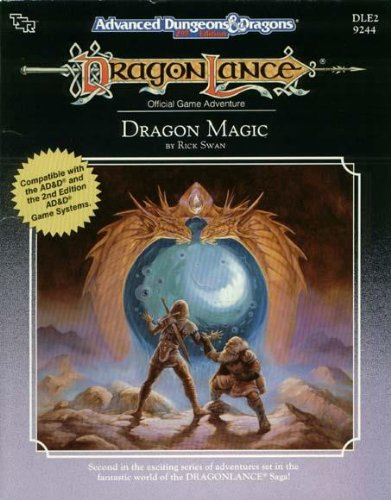 9780880387408: Dragon Magic/Dle2, No 9244 (Advanced Dungeons & Dragons, Official Game Adventure)