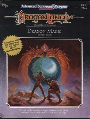 9780880387408: Dragon Magic (AD&D/Dragonlance Module DLE2) (Advanced Dungeons & Dragons, Official Game Adventure)