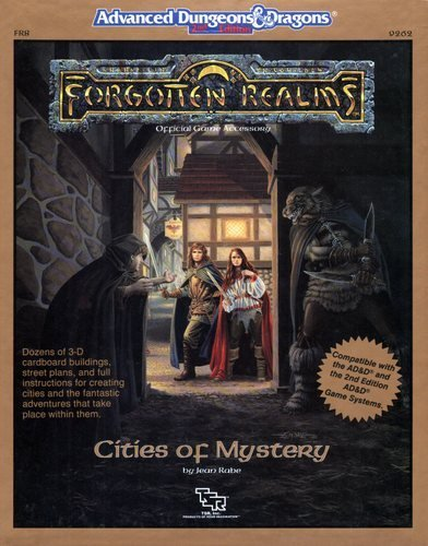 Cities Of Mystery Dungeon And Dragons Forgotten Realms Fr8: Rabe, Jean