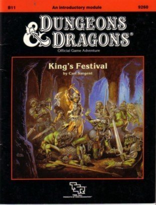 King's Festival (Basic Dungeons & Dragons (Original Edition) - Modules & Adventures - ...