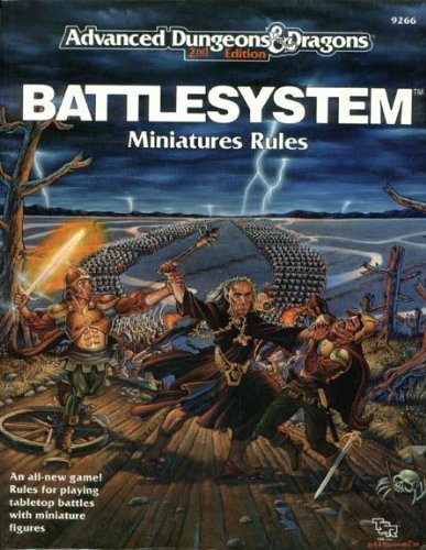 9780880387705: Battlesystem: Miniatures Rules (Advanced Dungeons & Dragons)