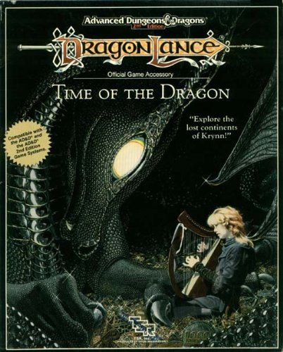 9780880387736: Time of the Dragon: Dragonlance Box (Advanced Dungeons and Dragons Dragonlance, Boxed Set)