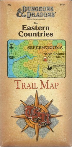 9780880387835: The Eastern Countries: Trail Map/Tm2, No 9404