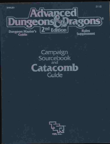 Advanced Dungeons and Dragons : Catacomb Guide