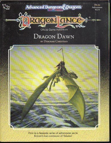 9780880388238: Dragon Dawn: Dragonlance Module, Dla1, Adventure 9275