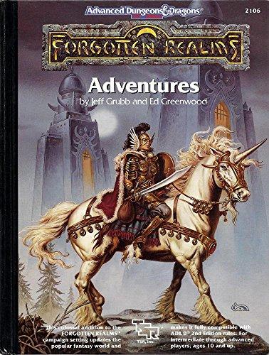 9780880388283: Forgotten Realms Adventure Book