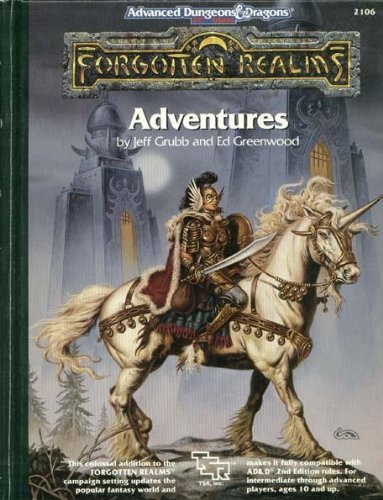 Advanced Dungeons and Dragons : Forgotten Realms, Adventure Book