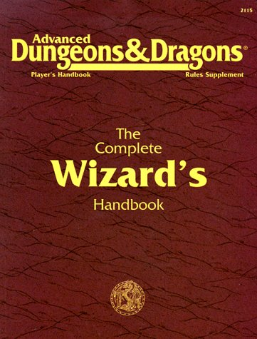 9780880388382: The Complete Wizard's Handbook, Second Edition (Advanced Dungeons & Dragons: Player's Handbook Rules Supplement #2115