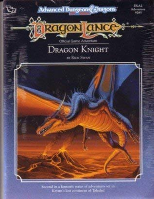 9780880388436: Dragon Knight (Advanced Dungeons & Dragons/Dragonlance Module DLA2)