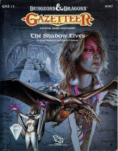 9780880388467: Gazetteer: The Shadow Elves (Dungeons and Dragons/Gaz 13)
