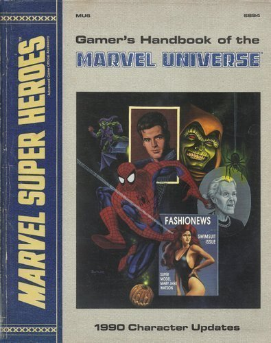 9780880388665: Gamer's Handbook of the Marvel Universe: 1990 Character Updates (Marvel Super Heroes Assessory MU6)