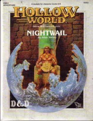 9780880388849: Nightwail (Dungeons and Dragons: Hollow World Adventure)