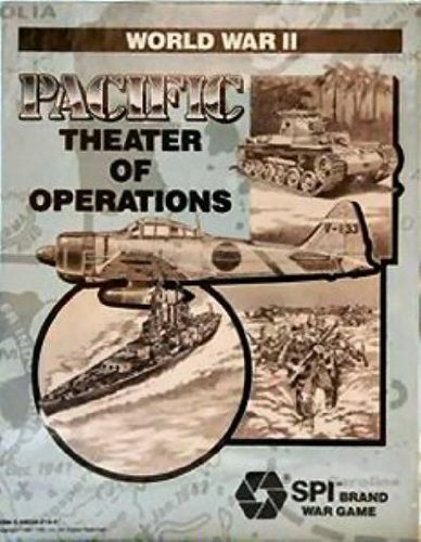 9780880388962: World War II: Pacific Theater of Operations (Spi Brand War Game)