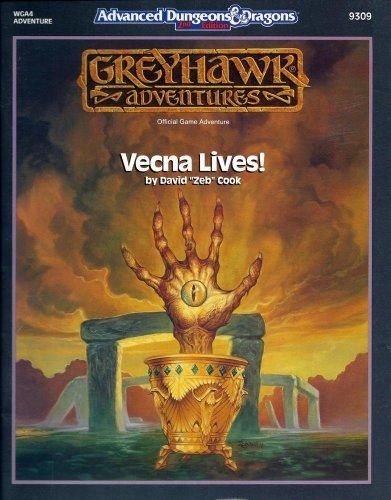 Vecna Lives (AD&D/Greyhawk Module WGA4): Cook, David