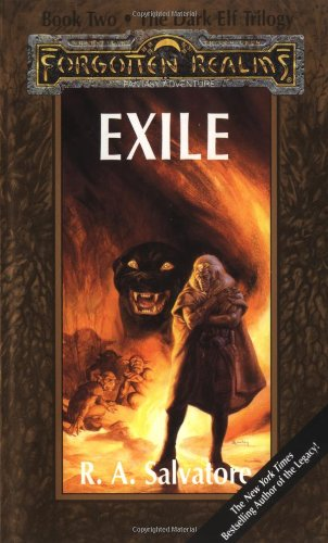 9780880389204: Exile: Forgotten Realms (The Dark Elf Trilogy, Book 2)