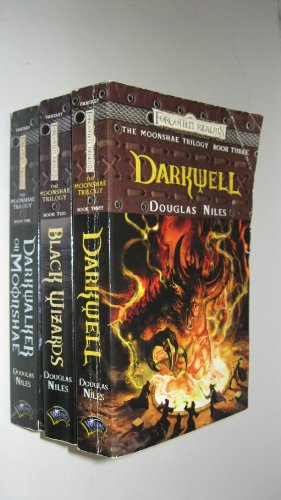 The Moonshae Trilogy: Darkwell/Black Wizards/Darkwalker on Moonshae (Forgotten Realms Fantasy Adventures/Boxed Set) (0880389249) by Niles, Douglas