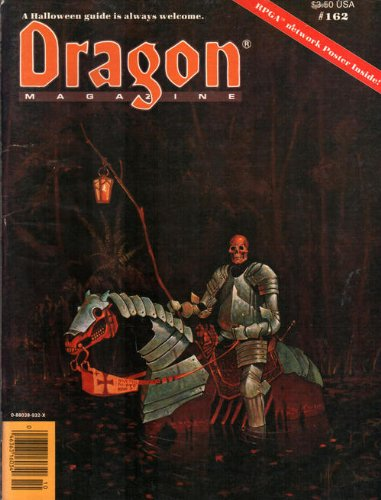 9780880389327: Dragon Magazine, No 162