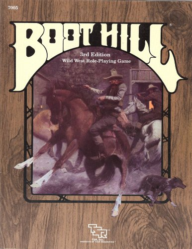 Boot Hill Wild West Role-Playing Game, 3rd edition: Winter, Steve