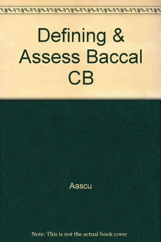9780880440653: Defining and Assessing Baccalaureate Skills: Ten Case Studies