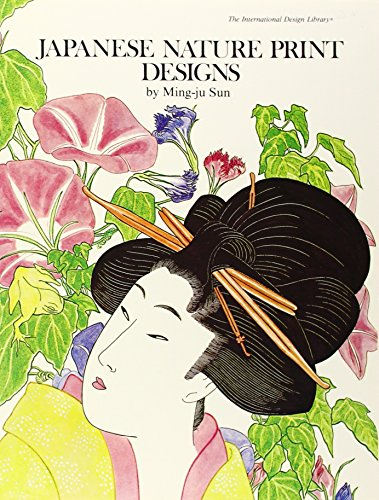 9780880450133: Japanese Nature Print Designs to Color (The International Design Library)