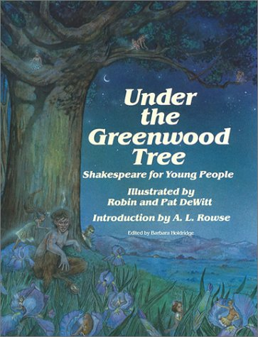 9780880450287: Under the Greenwood Tree (Stemmer House Poetry for Young People Se)