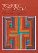 9780880450485: Geometric Maze Designs (International Design Library)