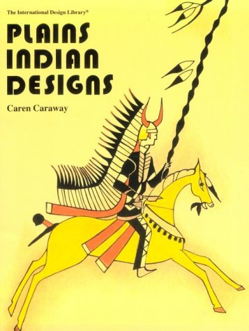 9780880450508: Plains Indian Designs (The International Design Library)