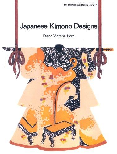 9780880450546: Japanese Kimono Designs (International Design Library)