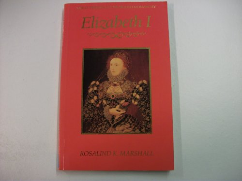 9780880451192: Elizabeth I (Great periods of the British monarchy)