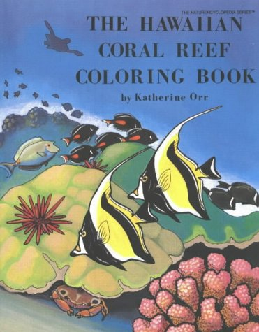 9780880451222: The Hawaiian Coral Reef Coloring Book (Nature Encyclopedia)