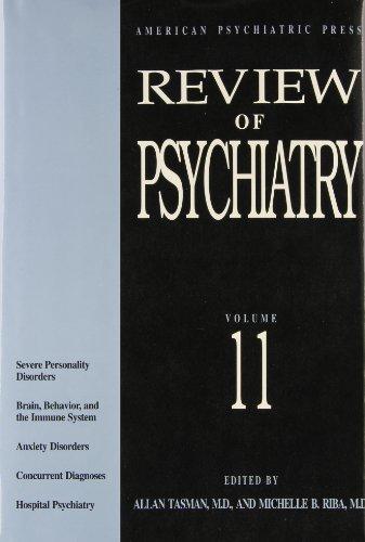 9780880484374: Review of Psychiatry - AbeBooks - Allan