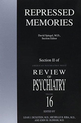 9780880484466: Repressed Memories (American Psychiatric Press Review of Psychiatry)