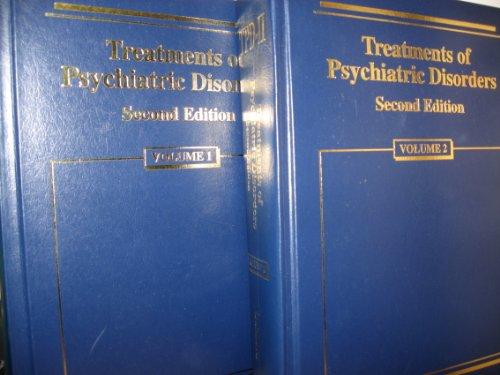 9780880487009: Treatments of Psychiatric Disorders (2 Volume Set)