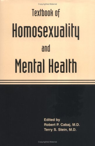 9780880487160: Textbook of Homosexuality and Mental Health