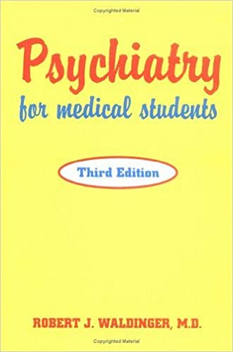 9780880487894: Psychiatry for Medical Students, Third Edition