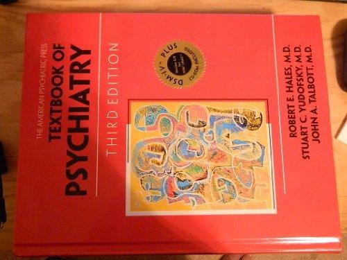 American Psychiatric Press Textbook Psychiatry (With CD-ROM: Editor-Robert E. Hales;