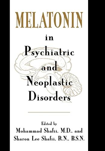 Melatonin in Psychiatric and Neoplastic Disorders: Shafii