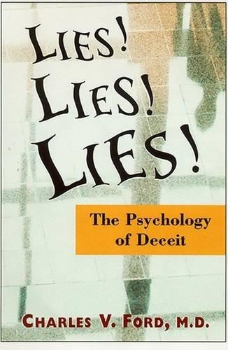 9780880489973: Lies! Lies!! Lies!!!: The Psychology of Deceit
