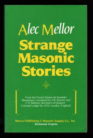 9780880530828: Strange Masonic Stories (English and French Edition)
