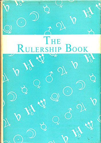 9780880537599: Rulership Book: A Directory of Astrological Correspondences