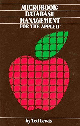 9780880560726: Microbook: Database Management for the Apple II Computer