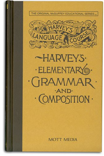9780880620413: Harvey's Elementary Grammar and Composition