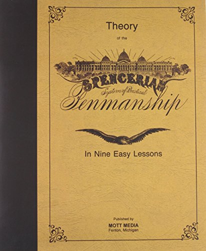 9780880620826: Theory of Spencerian Penmanship