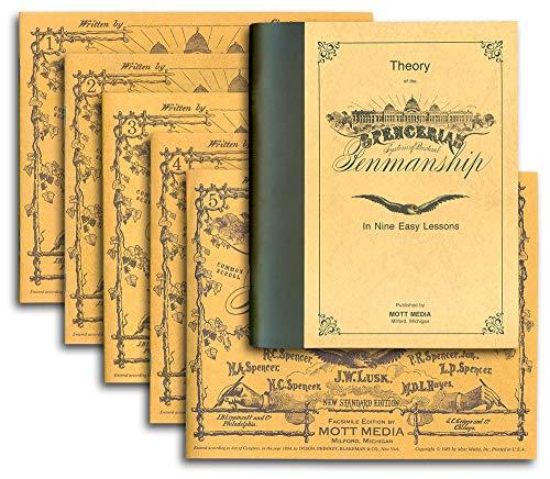 9780880620963: Spencerian Penmanship (Theory Book plus five copybooks)