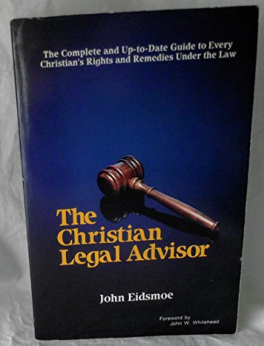 9780880621182: Christian Legal Advisor